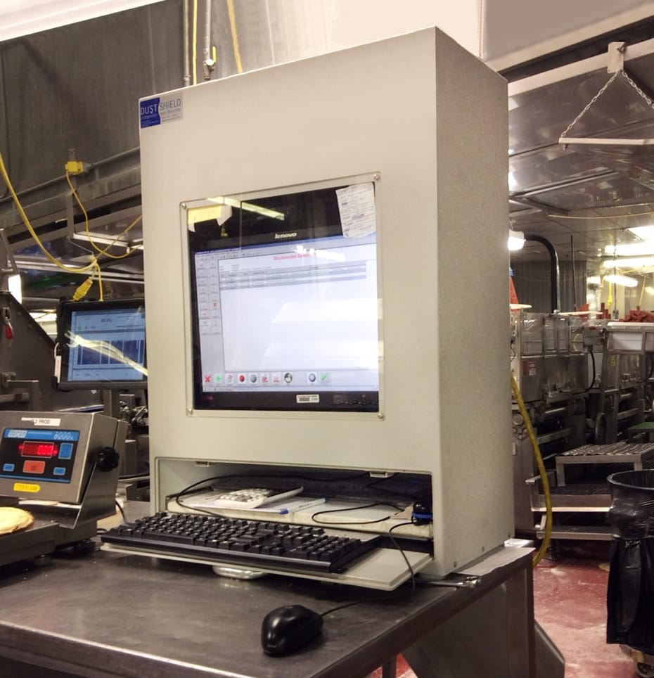 workstation for the food industry